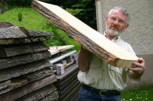 Auswahl und Beschaffung von getrocknetem Holz