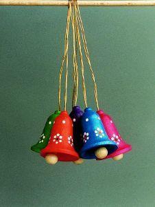 Kleine Glocken mehrfarbig 224/327